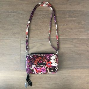 Vera Bradley all in one crossbody wristlet NWOT
